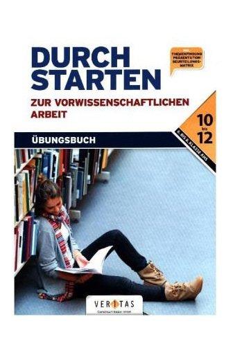 Durchstarten – Pädagogik: Durchstarten zur vorwissenschaftlichen Arbeit: Buch - 1