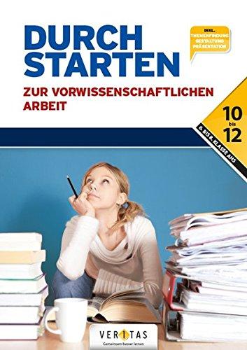 Durchstarten - Pädagogik: Durchstarten zur vorwissenschaftlichen Arbeit: Buch - 1