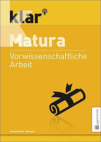klar_Matura Vorwissenschaftliche Arbeit - 1